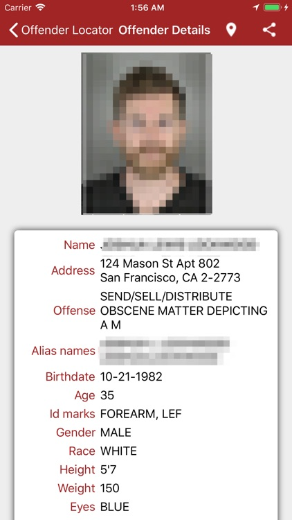 Offender Locator Lite screenshot-2