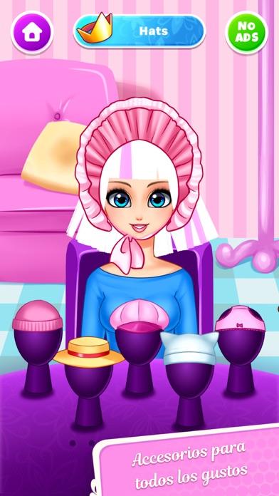 Girls Hair Salon - MuñecasCaptura de pantalla de4