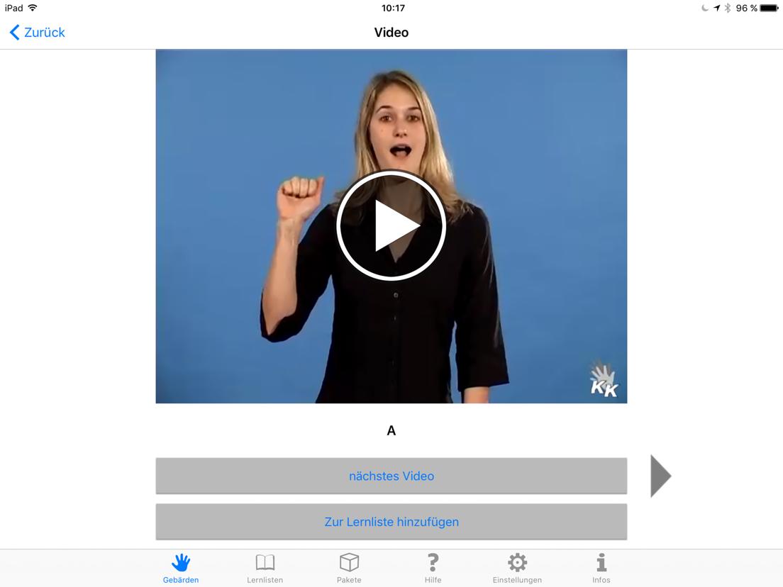 Gebärdensprache App Kostenlos