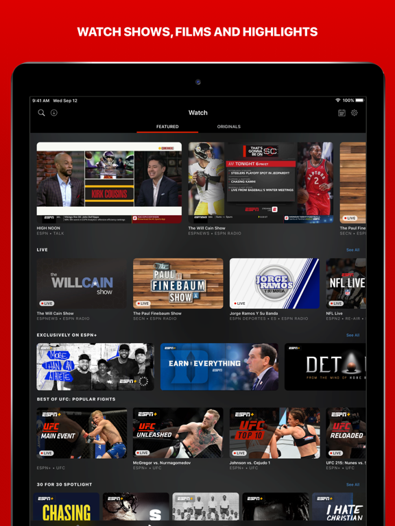 ESPN: Live Sports & Scores-ipad-1