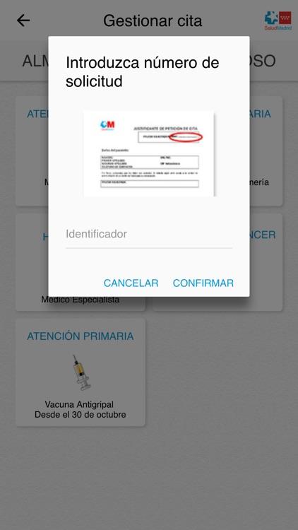 Cita Sanitaria Madrid screenshot-4
