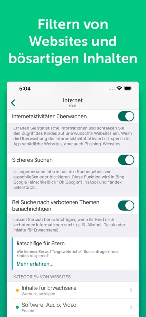 überwachung app iphone