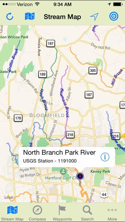 Stream Map USA - NE screenshot-3