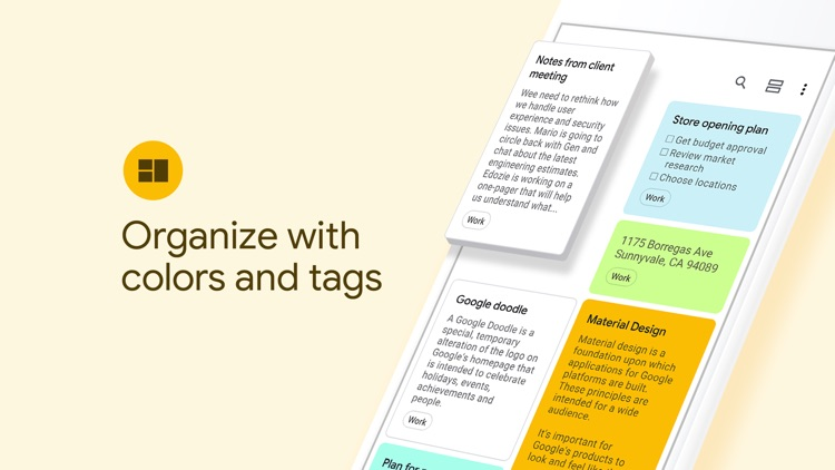 Google Keep - Notes and lists screenshot-3