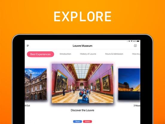 Louvre Museum Visitor Guide screenshot
