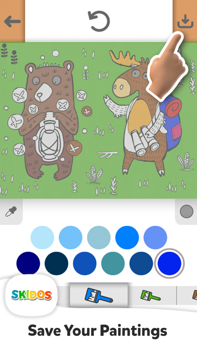 Drawing & Colouring for Kids screenshot #10