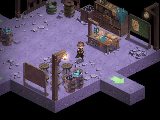 Azure Saga: Pathfinder Screenshots