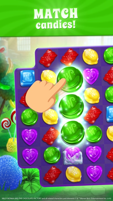download Wonka's World of Candy Match 3