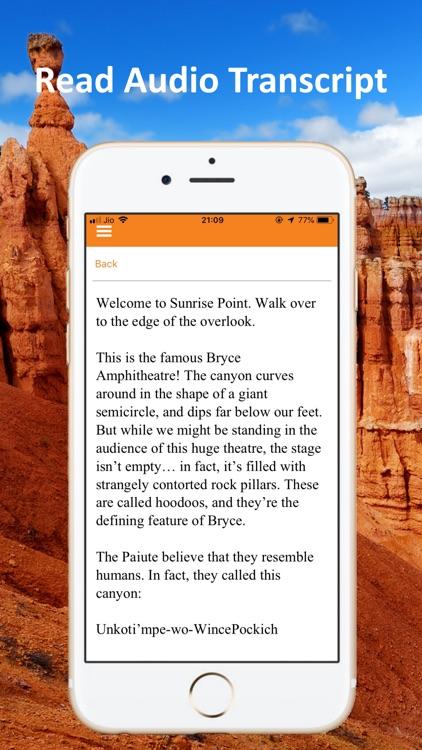 Bryce Canyon Audio Tour Guide screenshot-5