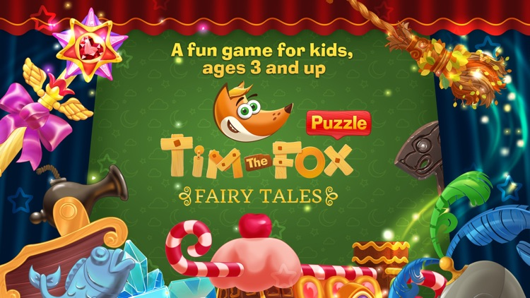 Tim the Fox Puzzle Fairy Tales screenshot-0