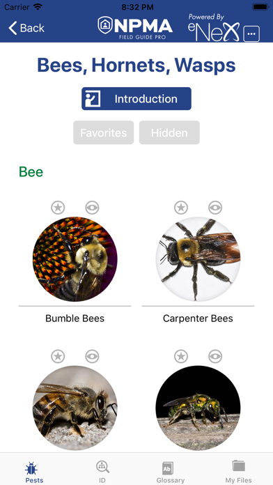 NPMA Field Guide PRO Screenshot