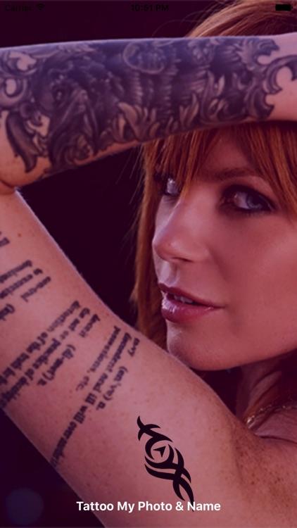 Tattoo My Photo And Name