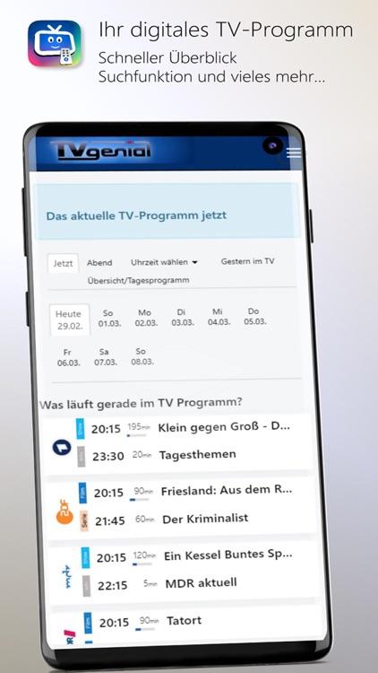 TVgenial - TV Programm