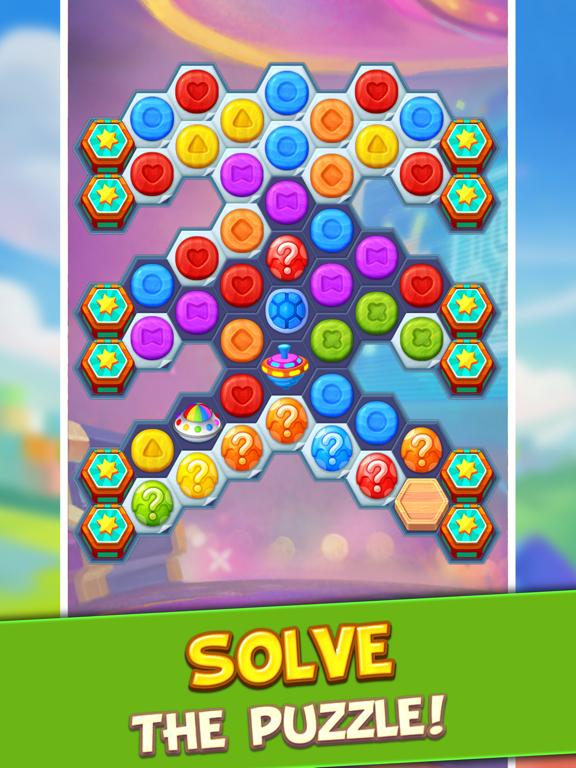 Toy Party: Match 3 Hexa Blast! screenshot 8
