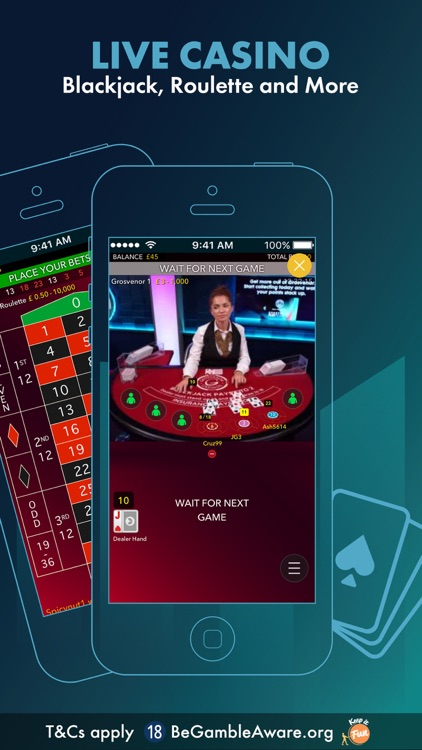 Grosvenor Live Casino Online By Grosvenor Casinos Ltd