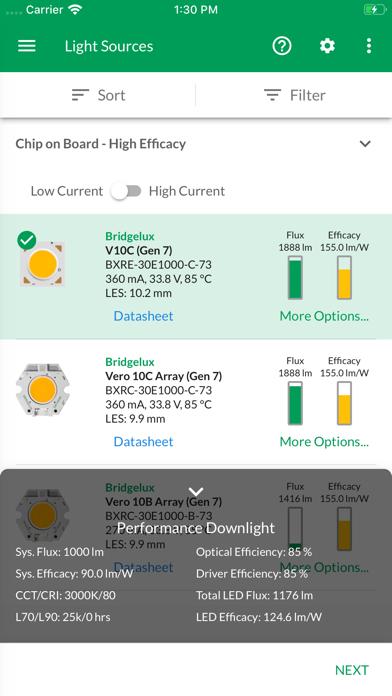 Lighting System Selector screenshot #4