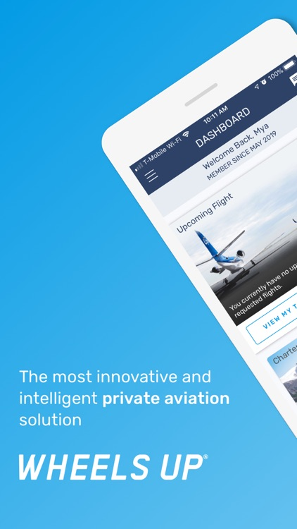 Wheels Up: Private Flight Club