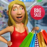 超级市场 购物 女孩 游戏