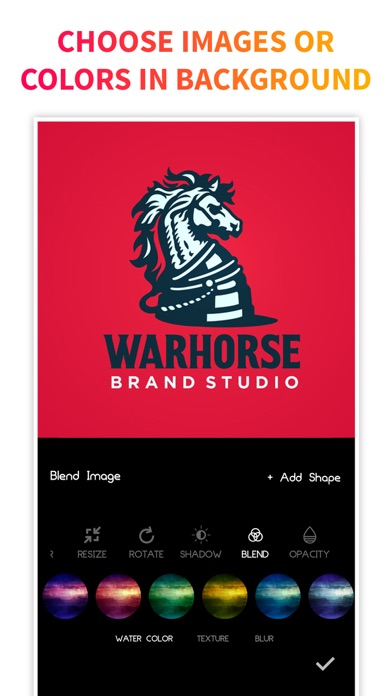 Screen Shot Logo Maker + Logo Creator 1