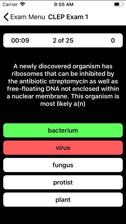 CLEP Biology Prep 2020 screenshot-3