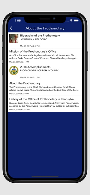 Berks County Prothonotary on the App Store