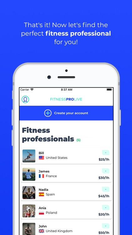 Fitness Pro Live screenshot-7