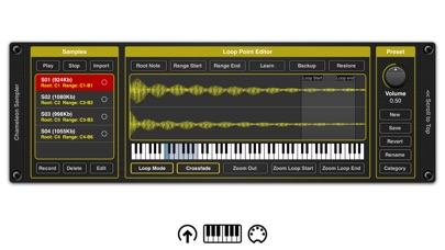 Chameleon AUv3 Sampler Plugin screenshot 3