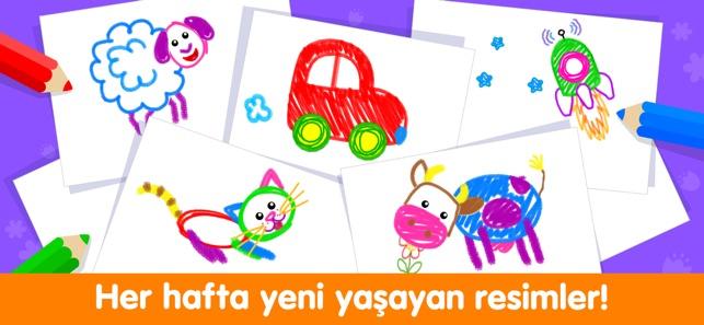 Bebek Boyama Oyunlari Ve Cocuk App Store Da