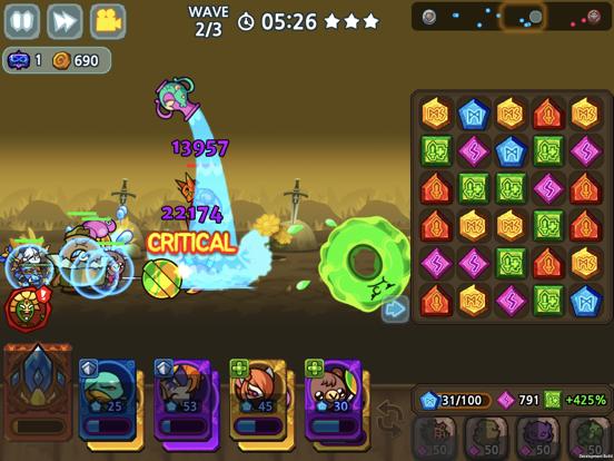 パズル&ディフェンス:Match 3 Battleのおすすめ画像7