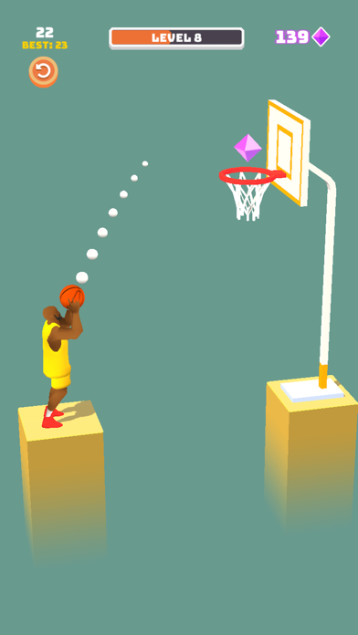 Perfect Dunk 3D screenshot 1
