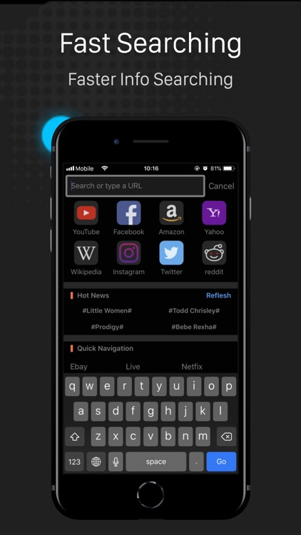Dark Browser- Private&safe screenshot-2
