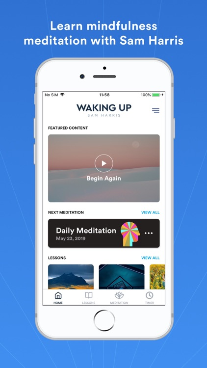 Waking Up: Guided Meditation