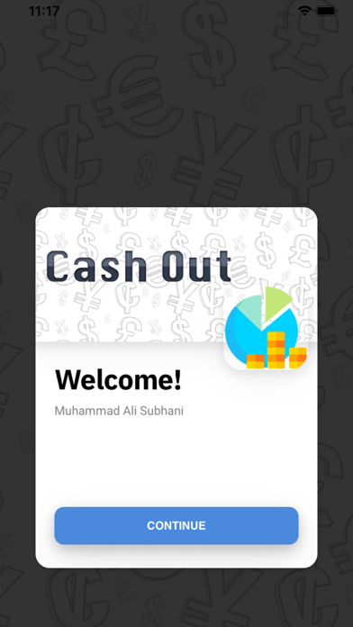 Screenshot of Cash Out: Simple Expense Track App
