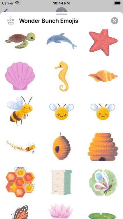 Wonder Bunch Emojis screenshot-7