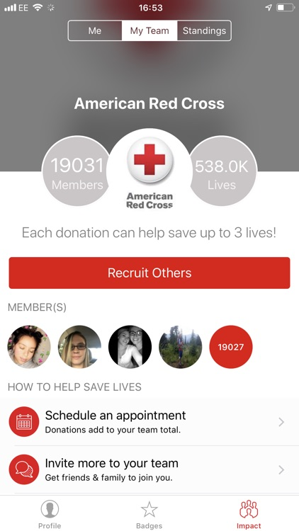 Blood Donor American Red Cross screenshot-5
