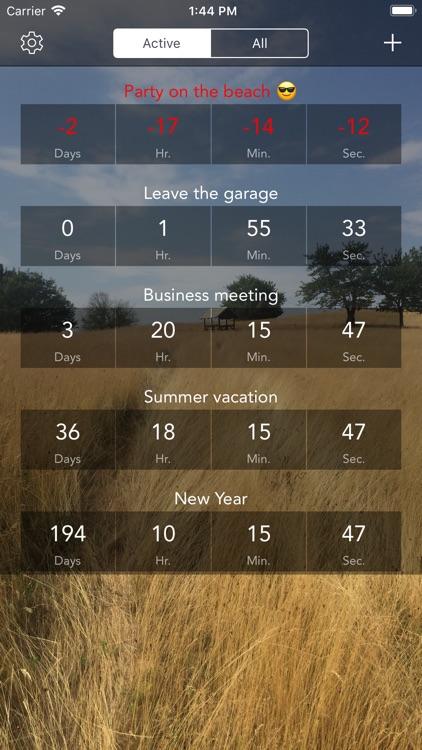 Countdown & Timer screenshot-6