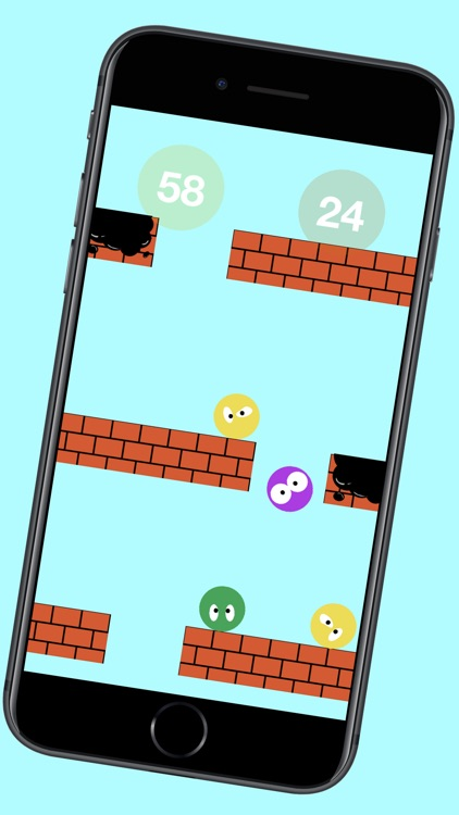 Smileys escape - arcade game screenshot-5