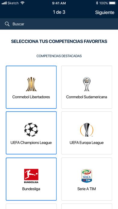 Screenshot for FOX Sports Latinoamérica in Mexico App Store