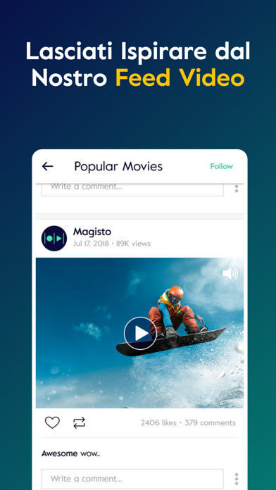 Download Magisto Editor Montaggio Video per Pc