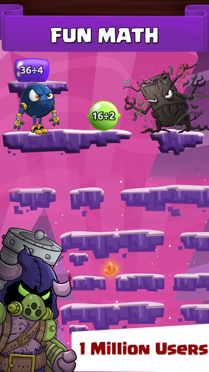 Monster Math For Kids - Games
