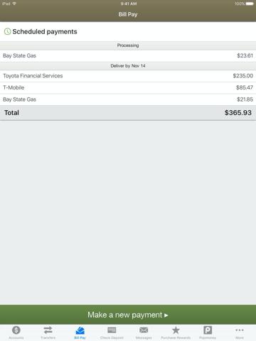 Uwharrie Bank e-zMobile - náhled