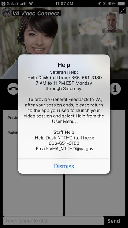 VA Video Connect screenshot-3