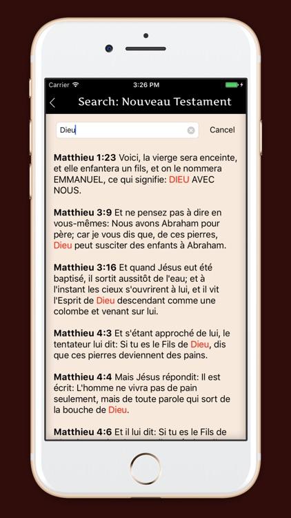 La Sainte Bible - français screenshot-4