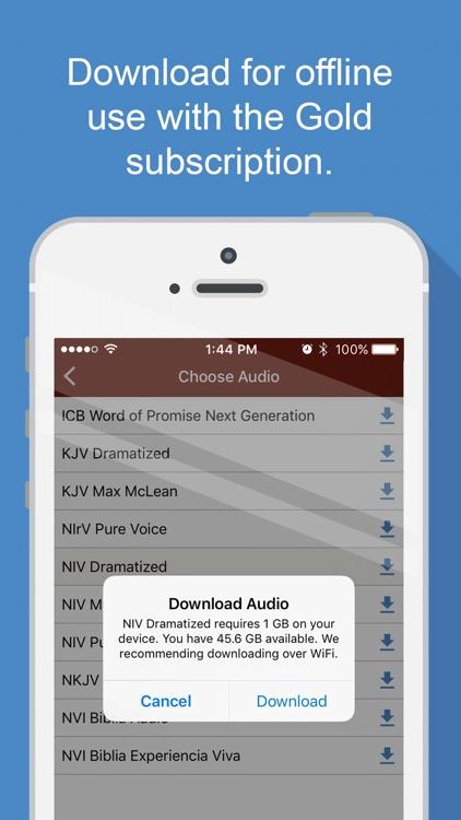Bible Audio screenshot-5