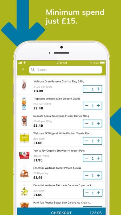 Ocado Zoom 60-minute groceries screenshot three