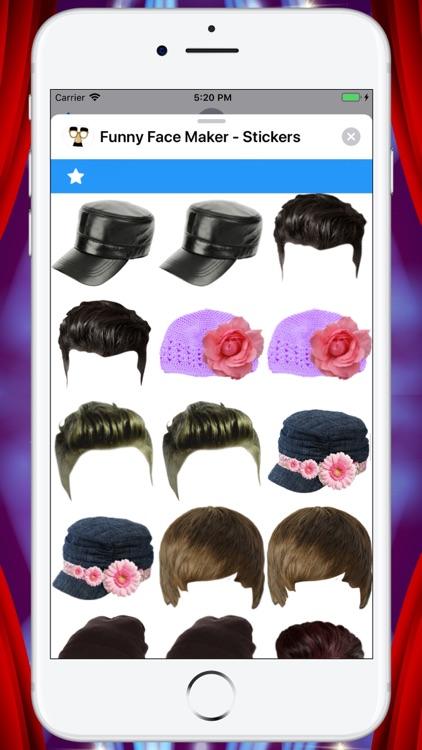 Funny Face Maker - Stickers screenshot-5