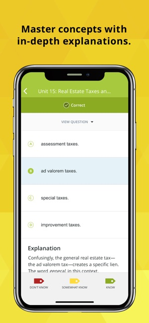 Real Estate Exam Prep & Review on the App Store