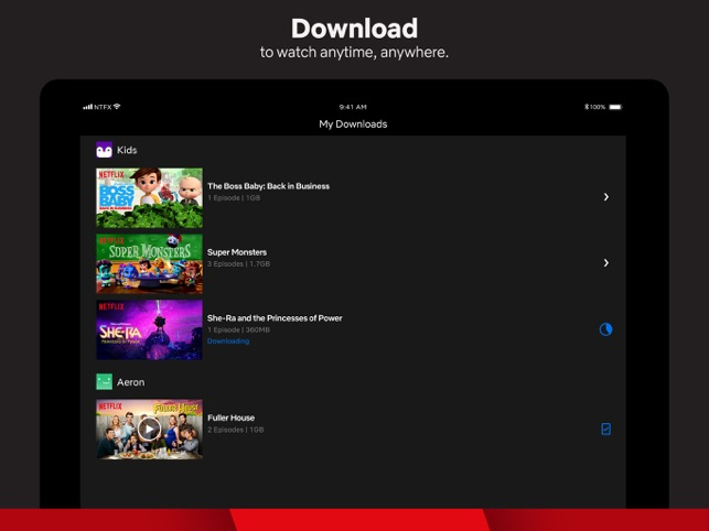download movies netflix on mac