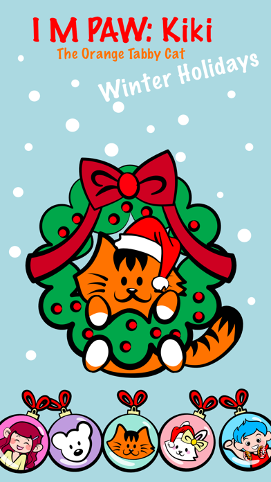 Kikimoji Cute Christmas screenshot 2
