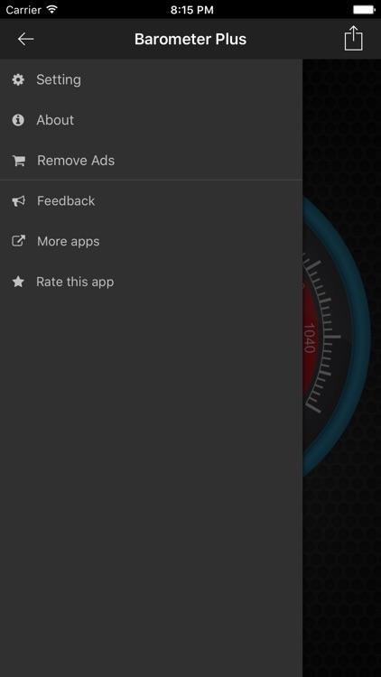 Barometer Plus - Altimeter screenshot-3